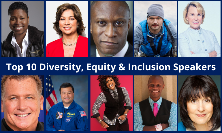 Top 10 Speakers on Diversity, Equity & Inclusion