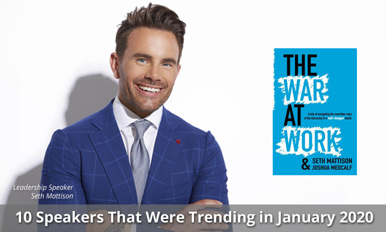 10 Speakers That Were Trending in December 2019