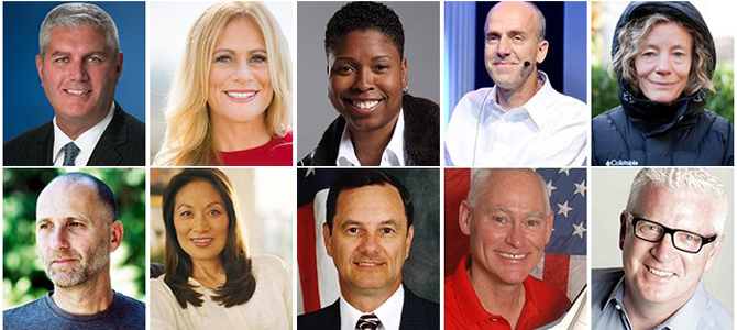 10 Highest Rated Inspirational Speakers for Business