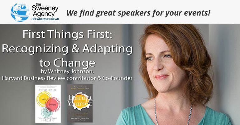 First Things First: Recognizing & Adapting to Change