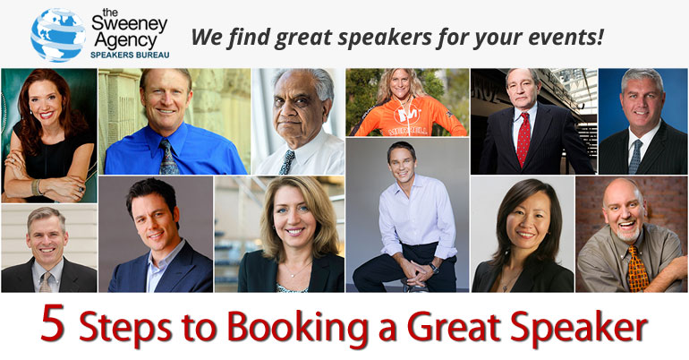 5 Steps to Booking a Great Speaker