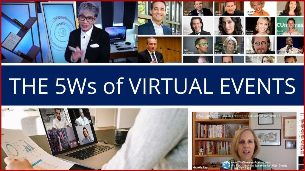 5Ws virtual events - Home