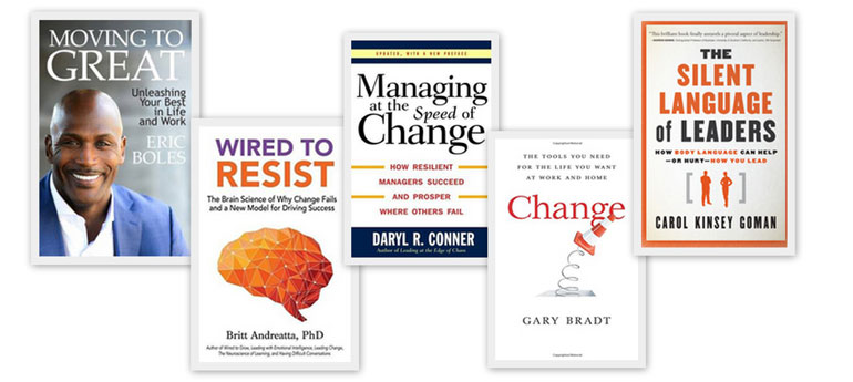 5 Great Books to Help You and Your Team Deal with Change