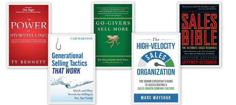 5 Great Books on Sales Every Salesperson Should Read