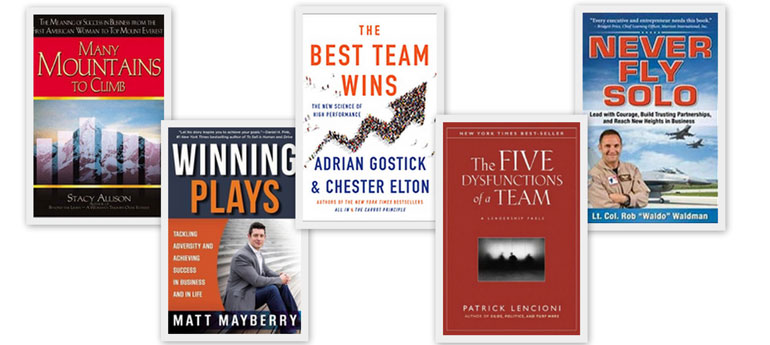 5 Great Books Every Team Leader Should Read