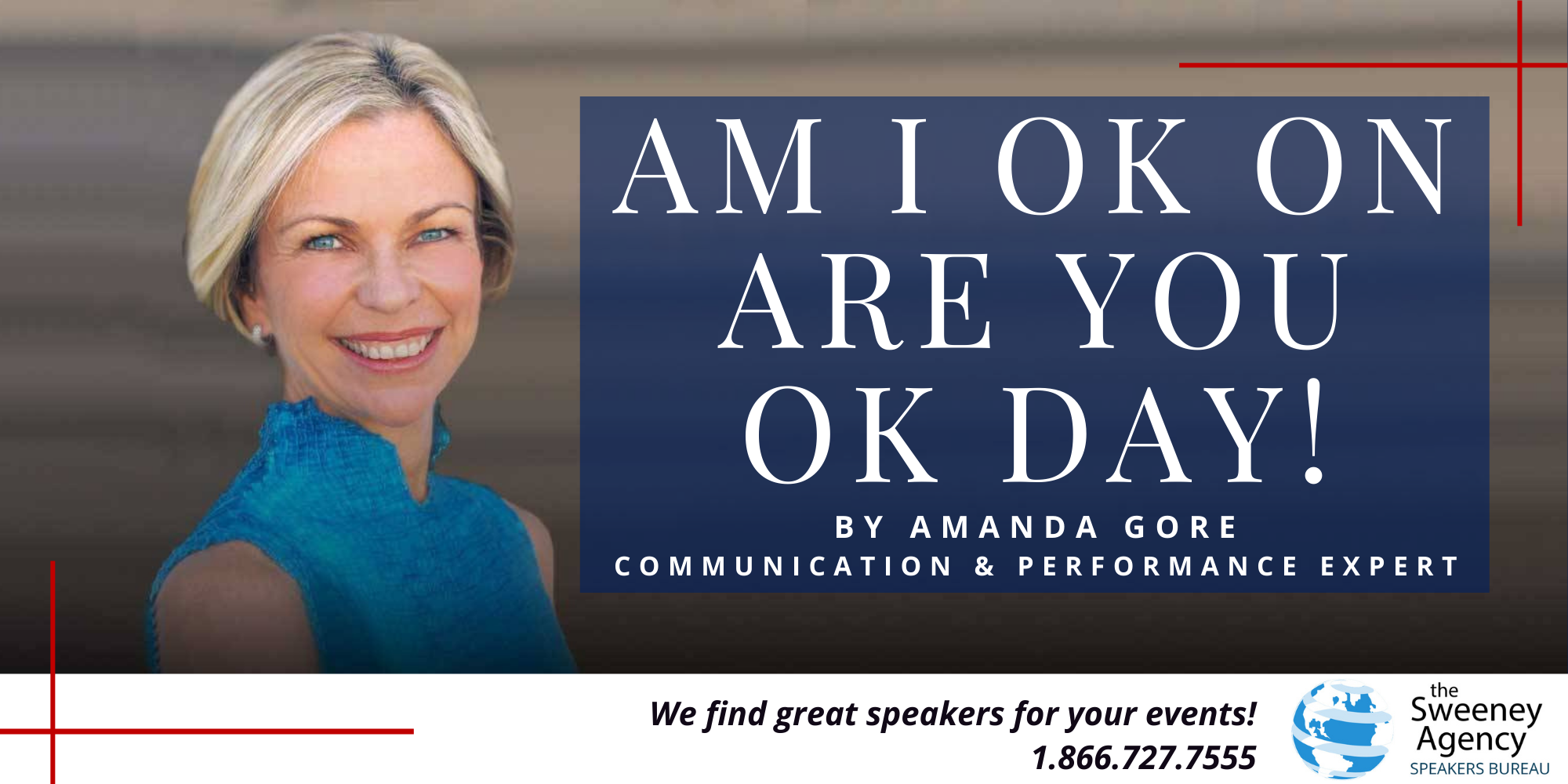 AM I OK  on Are you OK day!