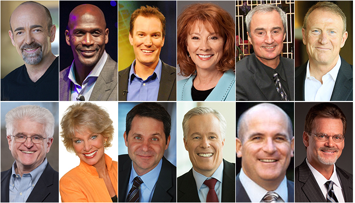 12 Highest Rated Speakers on Change