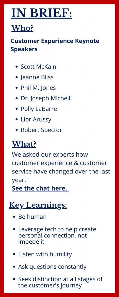 Customer Service Keynote Speakers at The Sweeney Agency