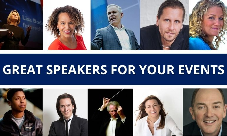 Great Speakers PCTA - Get Your Customized List of Speaker Ideas