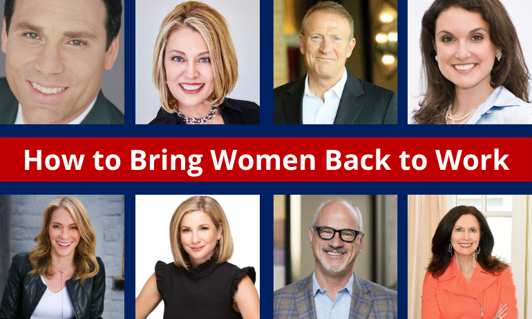 How to Bring Women Back to Work Post COVID