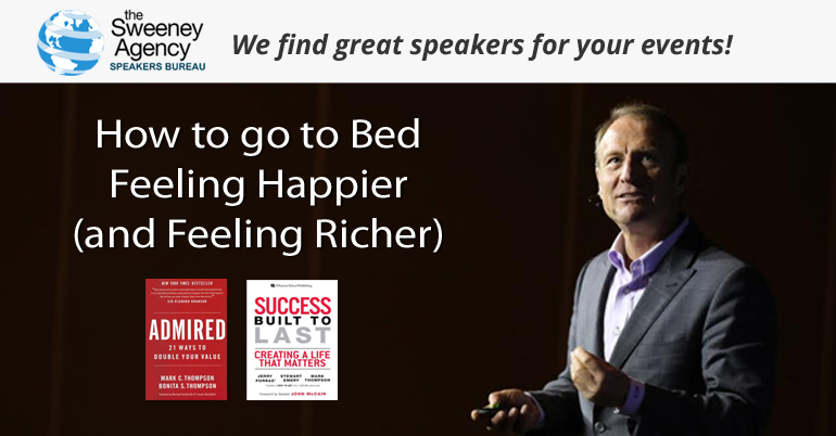 How To Go To Bed Tonight Feeling Happier (and Feeling Richer)