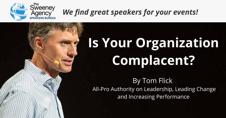 Is Your Organization Complacent?