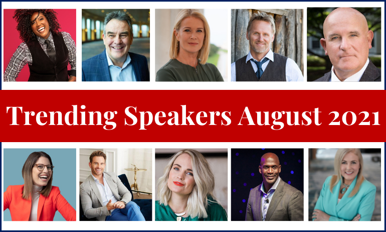 10 Speakers That Are Trending Now