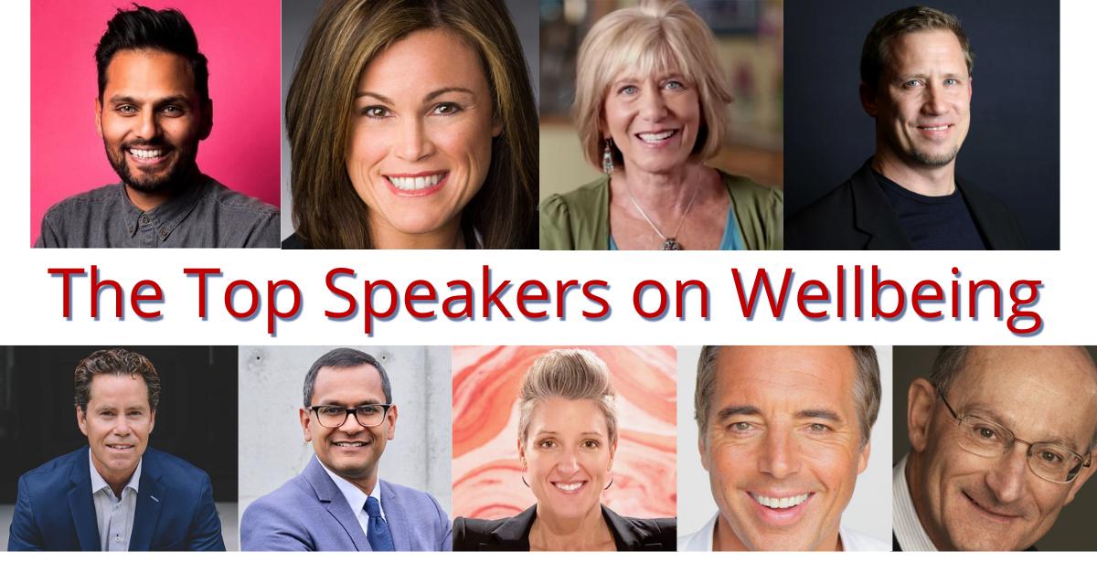 Wellbeing Speakers at The Sweeney Agency Spekers Bureau
