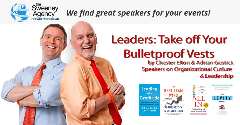 Leaders: Remove Your Bulletproof Vests