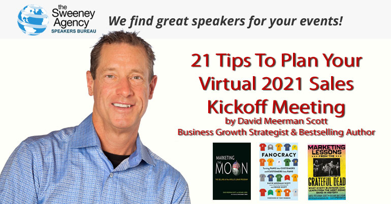 21 Tips To Plan Your Virtual 2021 Sales Kickoff Meeting
