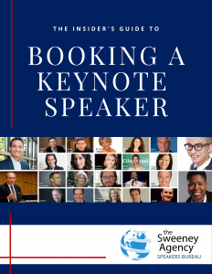 The Insider's Guide to Booking a Keynote Speaker