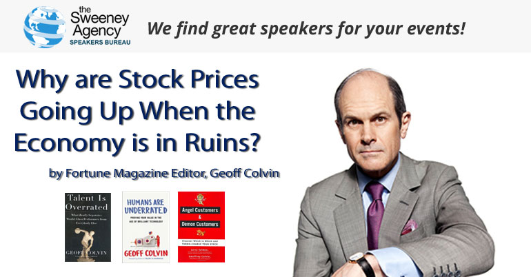 Why are Stock Prices Going Up When the Economy is in Ruins? Here's some context…