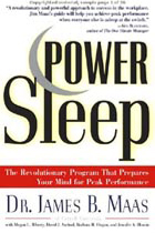 Power Sleep by Keynote Speaker James B. Maas The Sweeney Agency Speakers Bureau