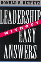 ronald heifetz leadership book2 - Ronald A. Heifetz