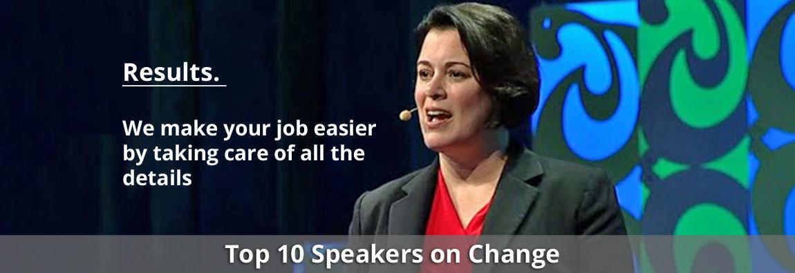 Top 10 Speakers on Change