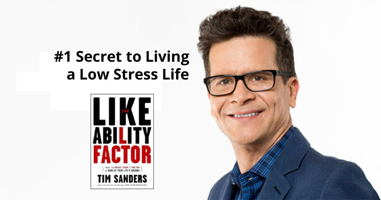 #1 Secret to Living a Low Stress Life