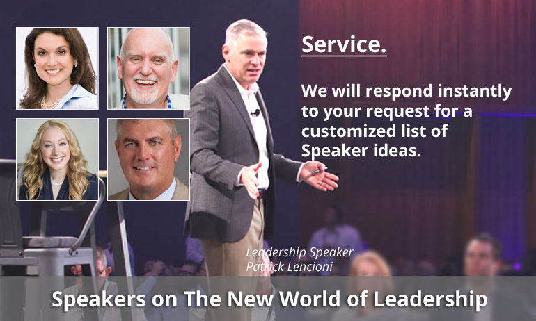 top speakers on leadership mobile slide - Home