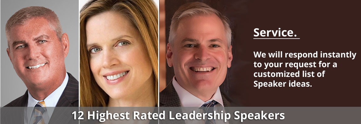 12 Highest Rated Leadership Speakers