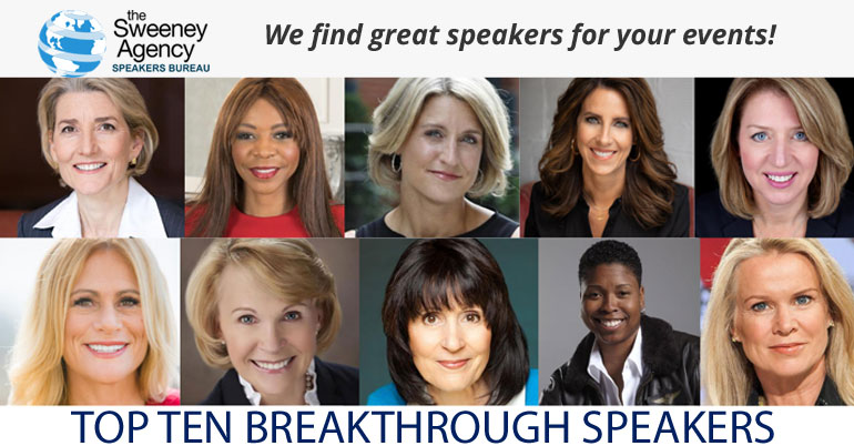 10 Breakthrough Speakers