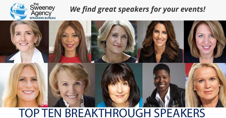 10 Breakthrough Speakers