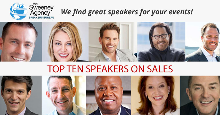 The Top 10 Speakers on Sales