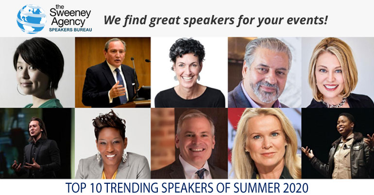 Top 10 Trending Speakers of Summer 2020