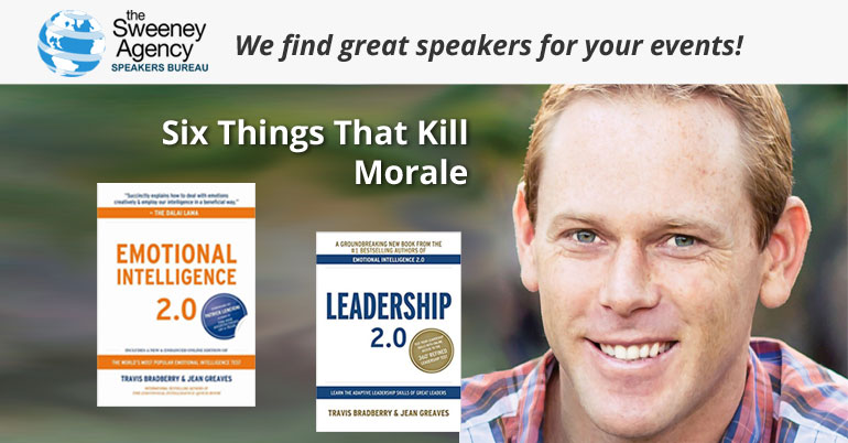 Six Things That Kill Morale