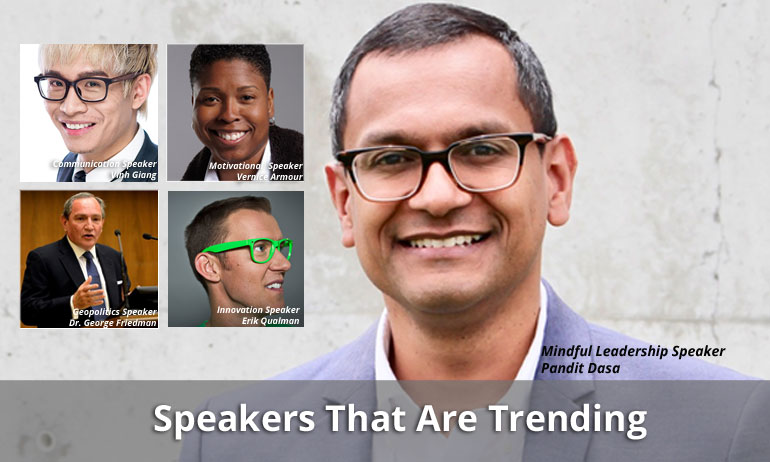 10 Speakers That Were Trending in February 2020