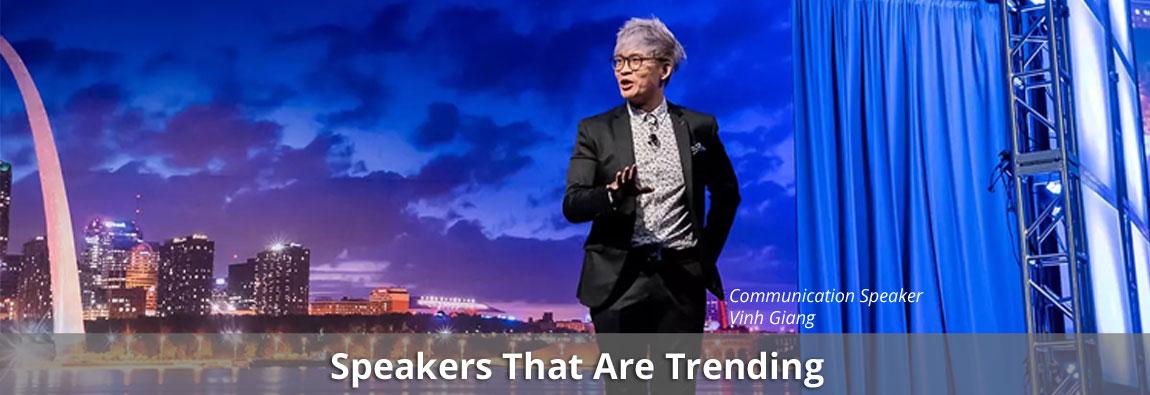 10 Speakers That Were Trending in February 2020