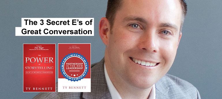 The 3 Secret E's of Great Conversation
